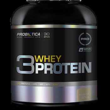 3 Whey Protein 2Kg Baunilha