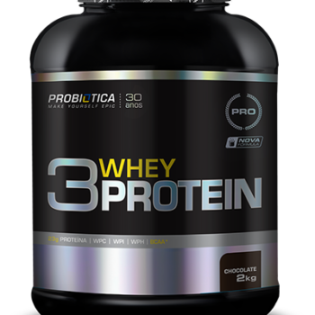 3 Whey Protein 2Kg Chocolate
