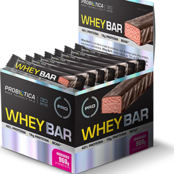 WHEY Bar Morango