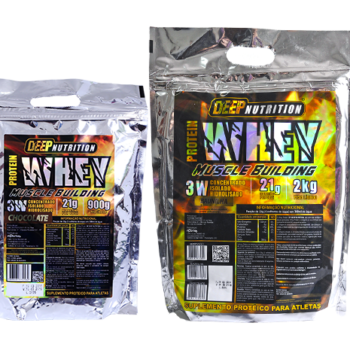 Whey Protein 3W Chocolate – 900g